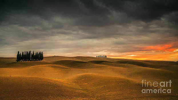Landscapes of Tuscany by Pawel Klarecki