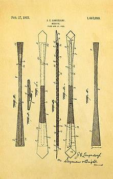 Ian Monk - Langsdorf Necktie Patent Art 1923
