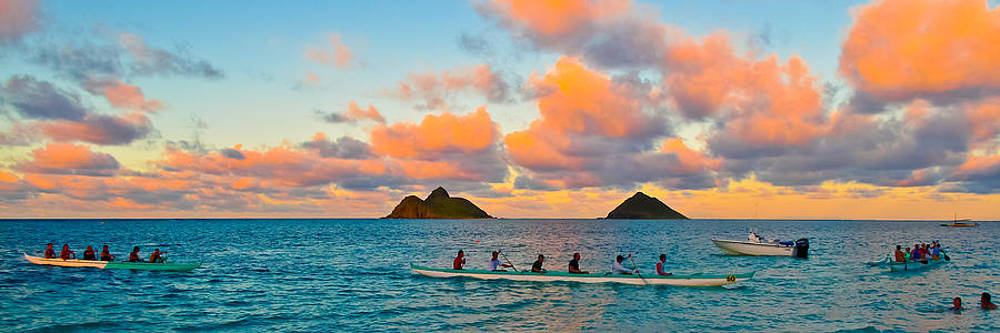 Lanikai Afternoon by Brian Gibson