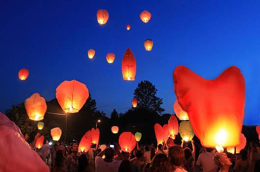 Lanterns by Pavlo Kuzyk
