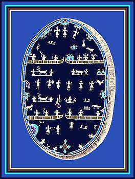 Lappish Shaman's Ritual Drum by Vagabond Folk Art - Virginia Vivier