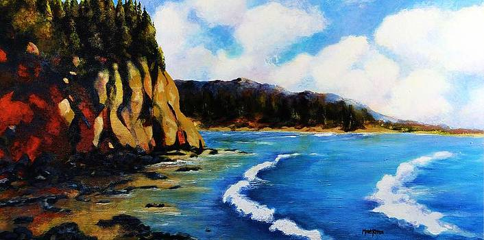 Larrabee State Park by Marti Green