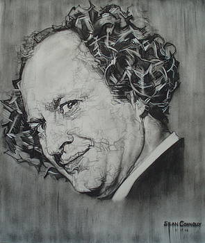Larry Fine Of The Three Stooges - Where's Your Dignity? by Sean Connolly