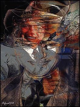 Larry Hagman by Orfeu De SantaTeresa