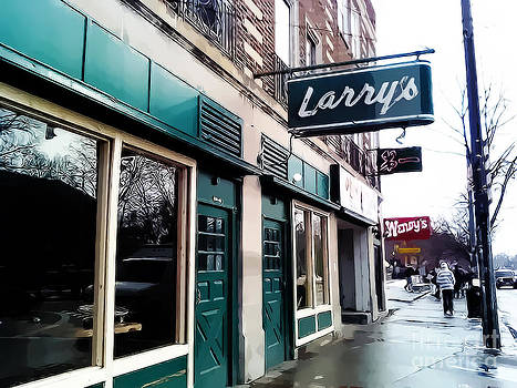 Larry's Bar by Rachel Barrett