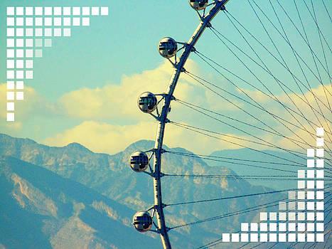 Las Vegas Cosmic Wheel by Michelle Dallocchio