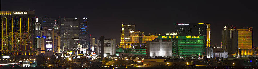 Las Vegas Lights by Bob Bailey