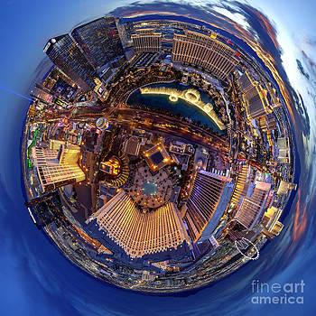 Las Vegas planet by Aleksandr Reznik
