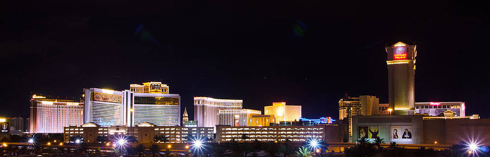 Las Vegas Skyline West View by Arnold Despi