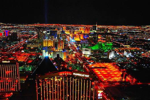 Las Vegas Strip by Amanda Miles