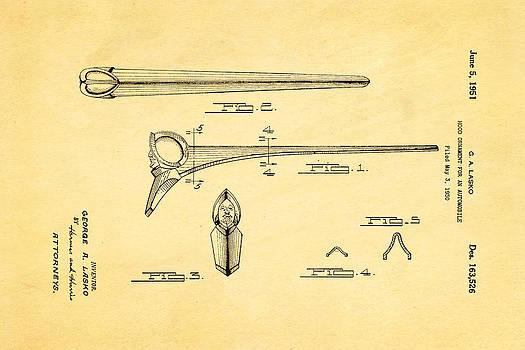 Ian Monk - Lasko Hood Ornament Patent Art 1951