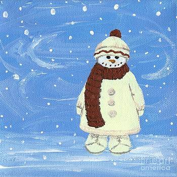 Last Decoration Snowman by Lynn Babineau