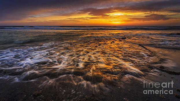 Last Light At Torregorda Beach Cadiz Spain by Pablo Avanzini