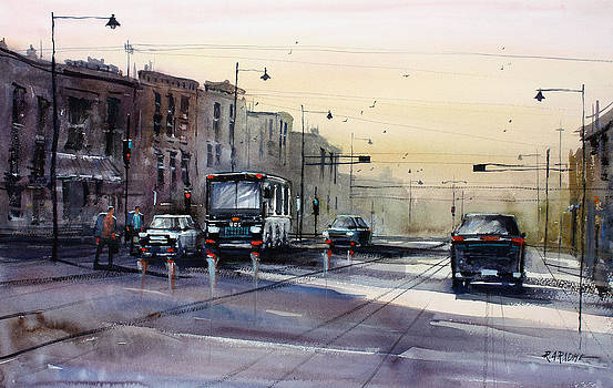 Last Light - College Ave. by Ryan Radke