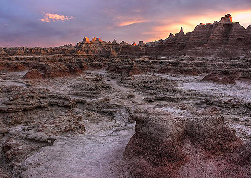 Last Light in the Badlands by Chris Allington