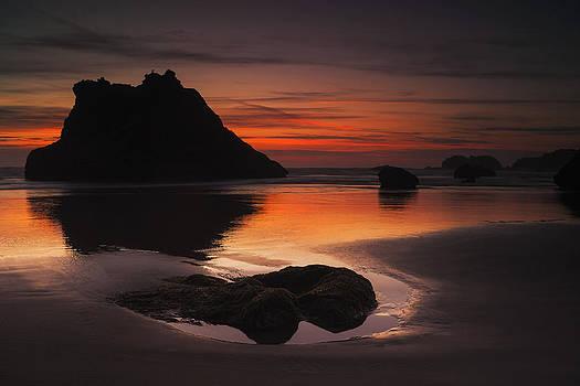 Last Light on the Coast by Andrew Soundarajan
