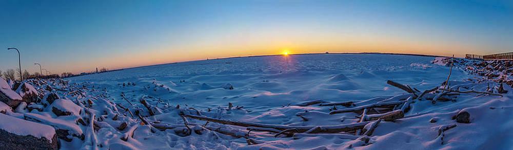 Chris Bordeleau - Last Light over Ice Edge