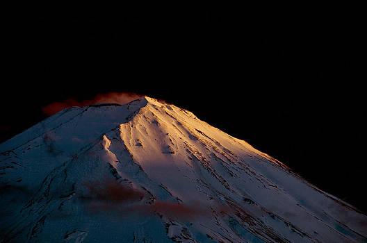 Matt Swinden - Last rays upon Mt Fuji