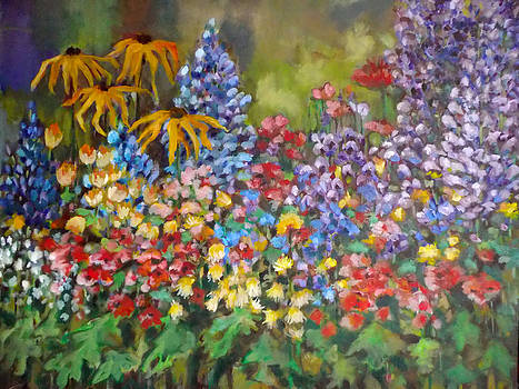 Last Summer's Flowers by Irena Mohr