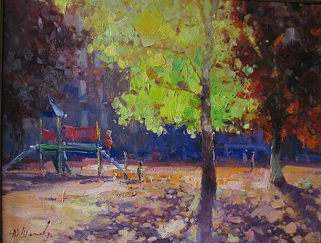 Last warm day by Shapoval Yura