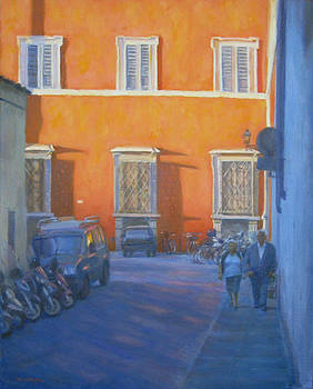 Late Afternoon Italy by Michael Gillespie