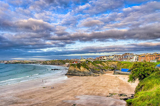 Mark Tisdale - Late Afternoon On Towan Beach In Newquay