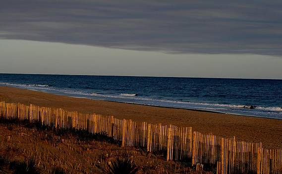 Late Fall Afternoon Seascape by Beth Andersen