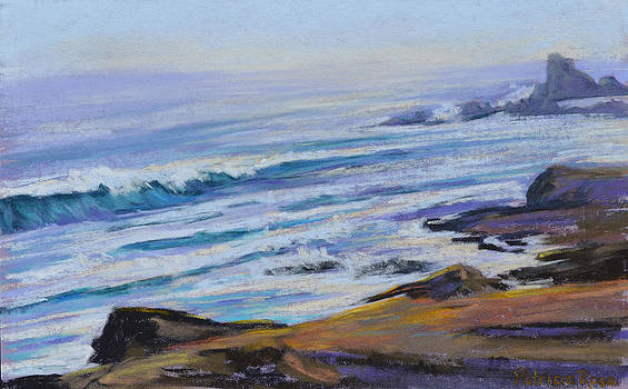 Late Evening Waves by Patricia Rose Ford