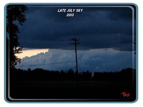 Late July Sky by Lele Pennington