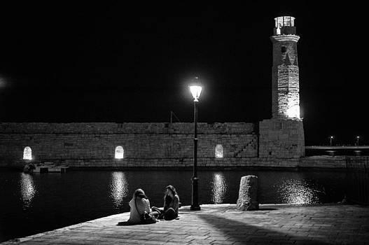 Late night boy talk by Spyros Papaspyropoulos