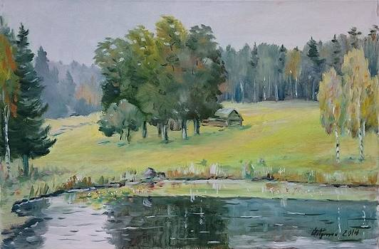 Late Summer in Otepaa by Ylo Telgmaa