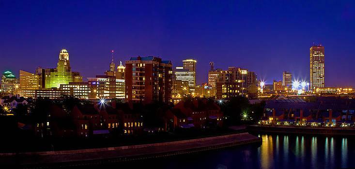 Late Summer Night In Buffalo by Don Nieman
