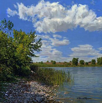Late Summer on Lower Gar by Bruce Morrison