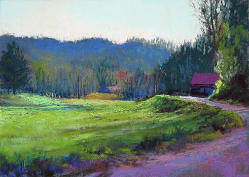 Late Valley Light by Marsha Savage