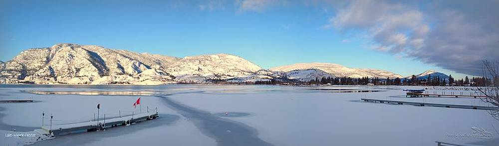 Guy Hoffman - Late-Winter-Freeze - Skaha Lake 02-25-2014