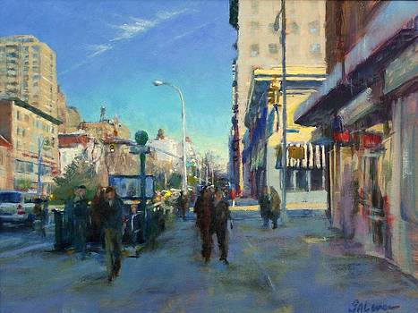 Late Winter Morning on Broadway by Peter Salwen