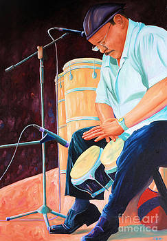 Latin Jazz Musician by Todd Bandy