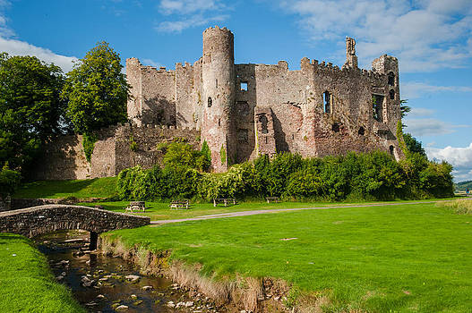 David Ross - Laugharne Castle