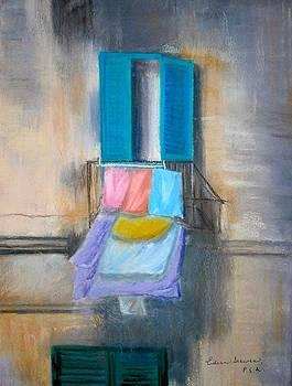 Laundry Monopoli Italy by Eileen Serwer