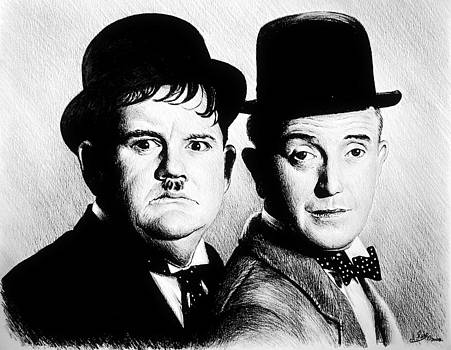 Laurel and Hardy Another fine mess by Andrew Read
