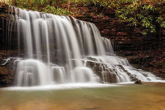 Laurel Run Falls TN by Jonathan Grim