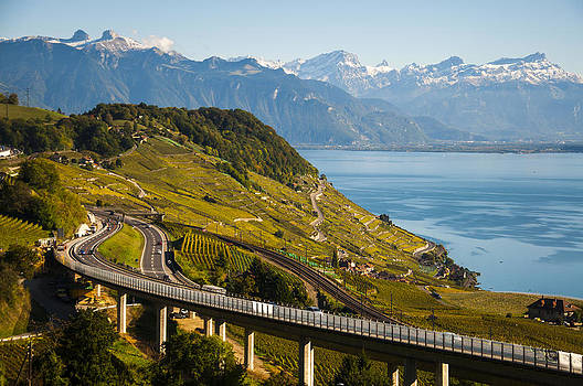 Lausanne to Montreux by Rob Hemphill