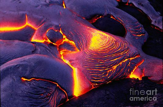 Douglas Peebles - Lava from Kilauea Volcano-Hawaii
