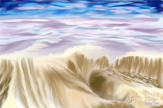 Lavendar Sea by Barbara Burns