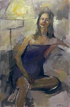 Lavender Blue by Nancy Blum