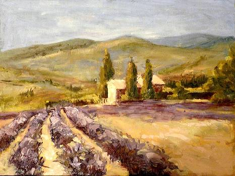 Christa Friedl - Lavender Field