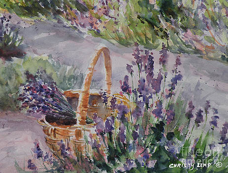 Lavender Gathering by Christy Lemp