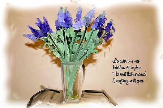 Phillip J Gordon - Lavender In A Vase - Poem