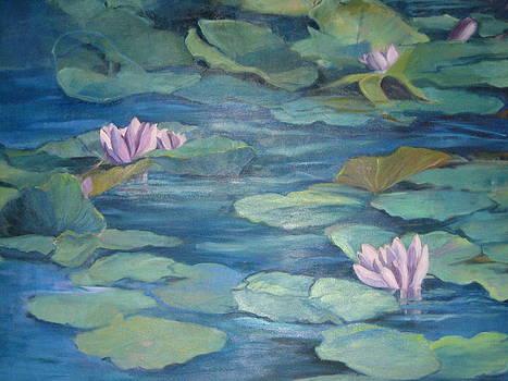 Lavender Lillies by D Marie LaMar
