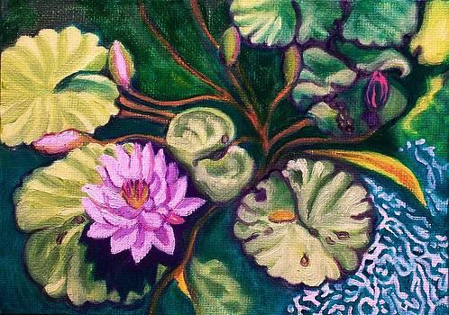 Ruth Soller - Lavender Lotus Flower